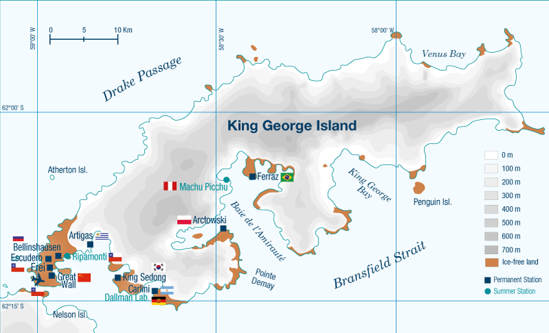King George Island map2